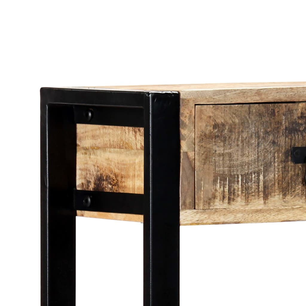 Console Table 90x30x75 cm Solid Mango Wood 6