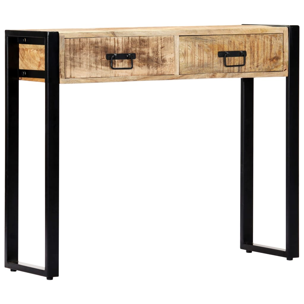 Console Table 90x30x75 cm Solid Mango Wood 8