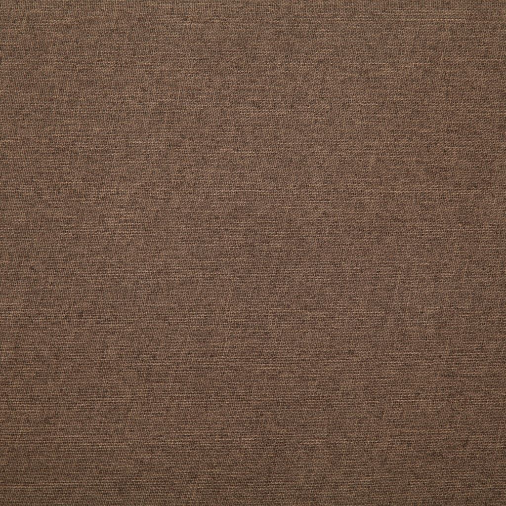 Sofa Bed Brown Polyester 4