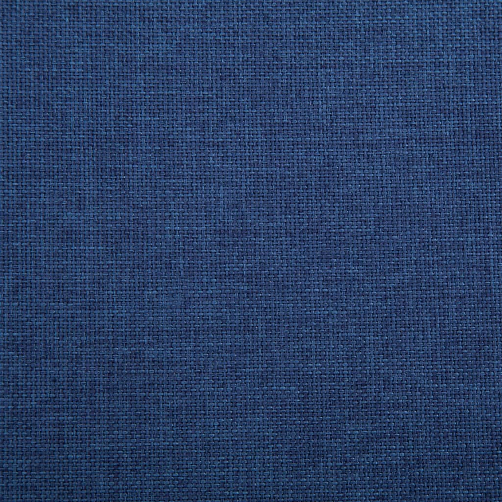 Sofa Bed Blue Polyester 4
