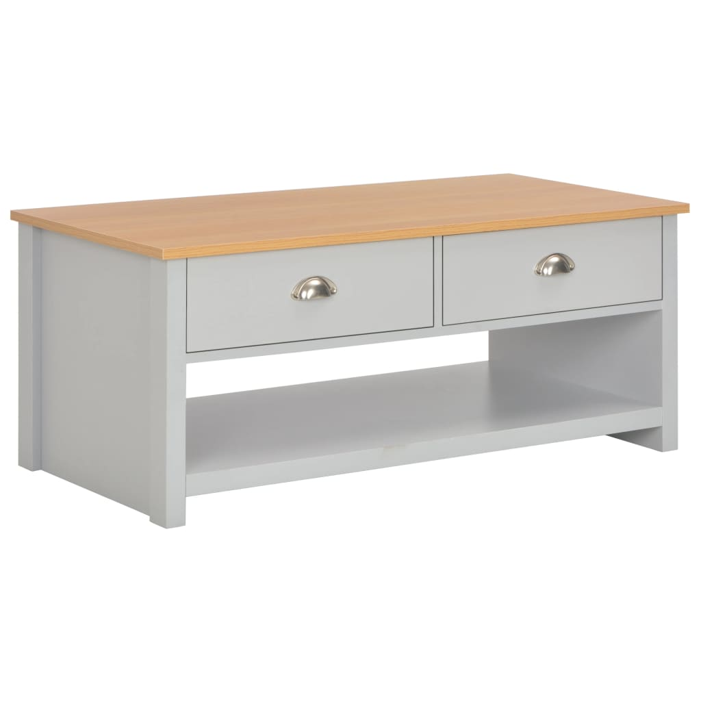 Coffee Table Grey 100x50x42 cm