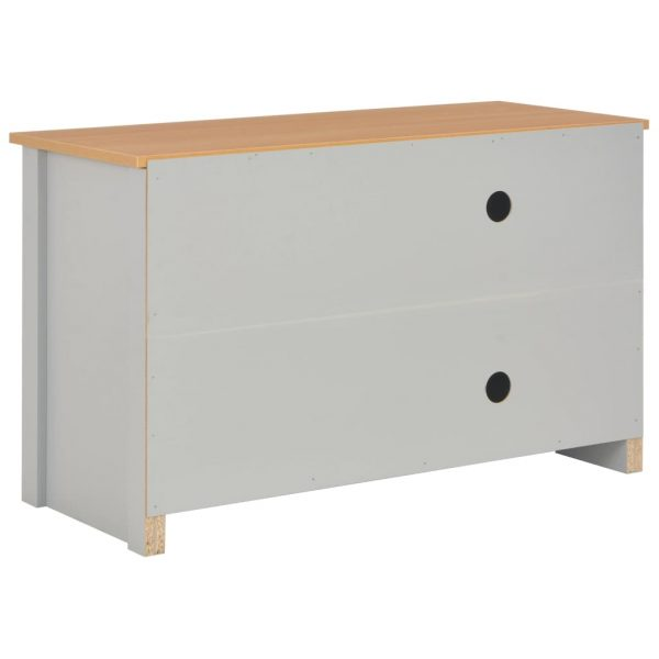 TV Cabinet Grey 95x39x58 cm 5