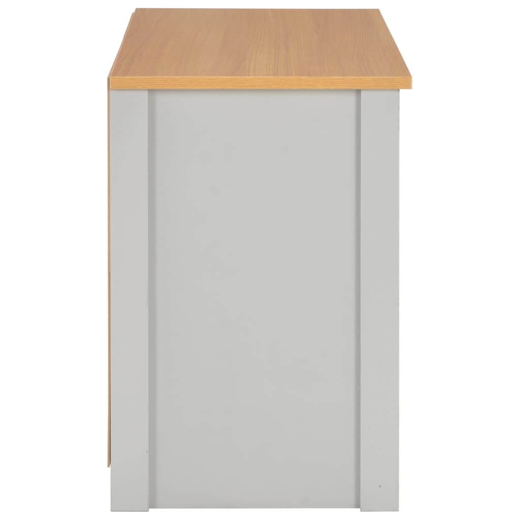 TV Cabinet Grey 95x39x58 cm 6