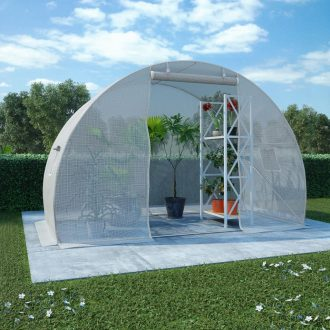 Greenhouse with Steel Foundation 4