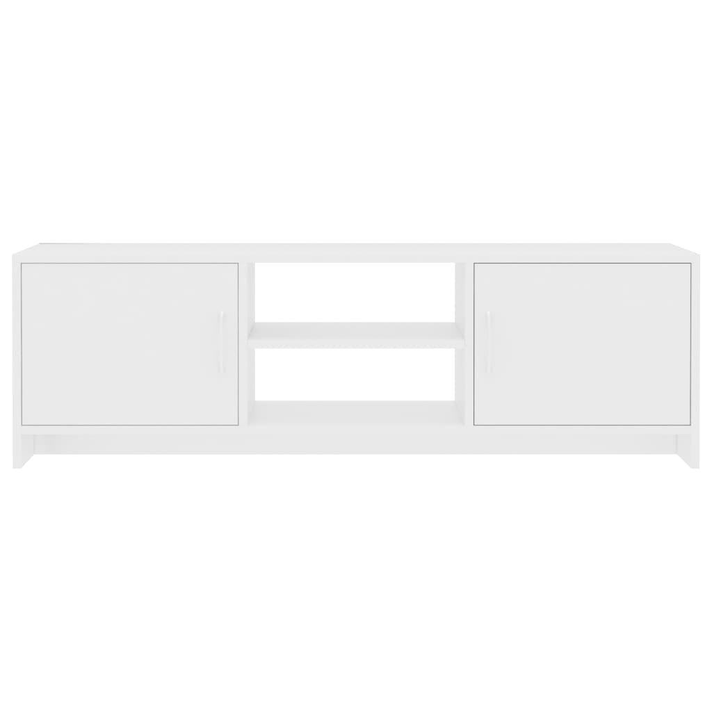 TV Cabinet White 120x30x37,5 cm Chipboard 5
