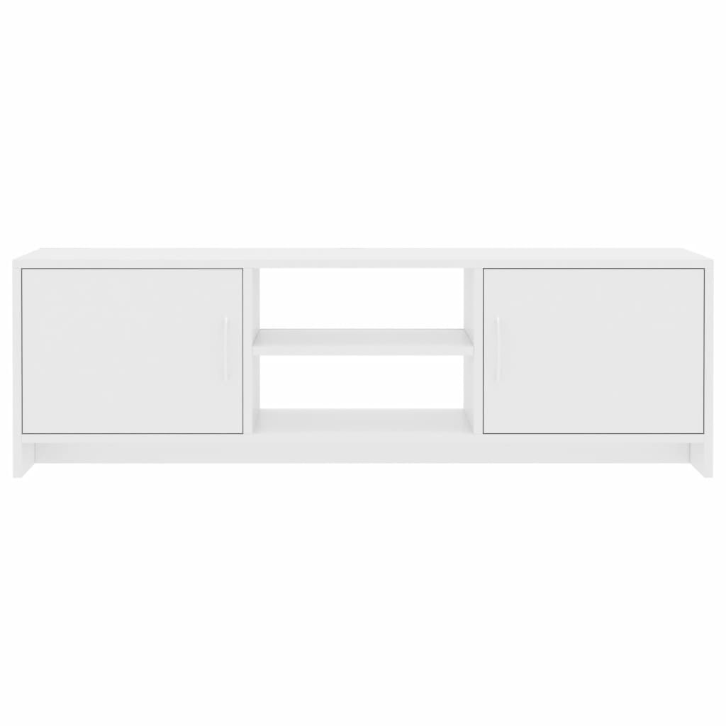 TV Cabinet High Gloss White 120x30x37,5 cm Chipboard 5