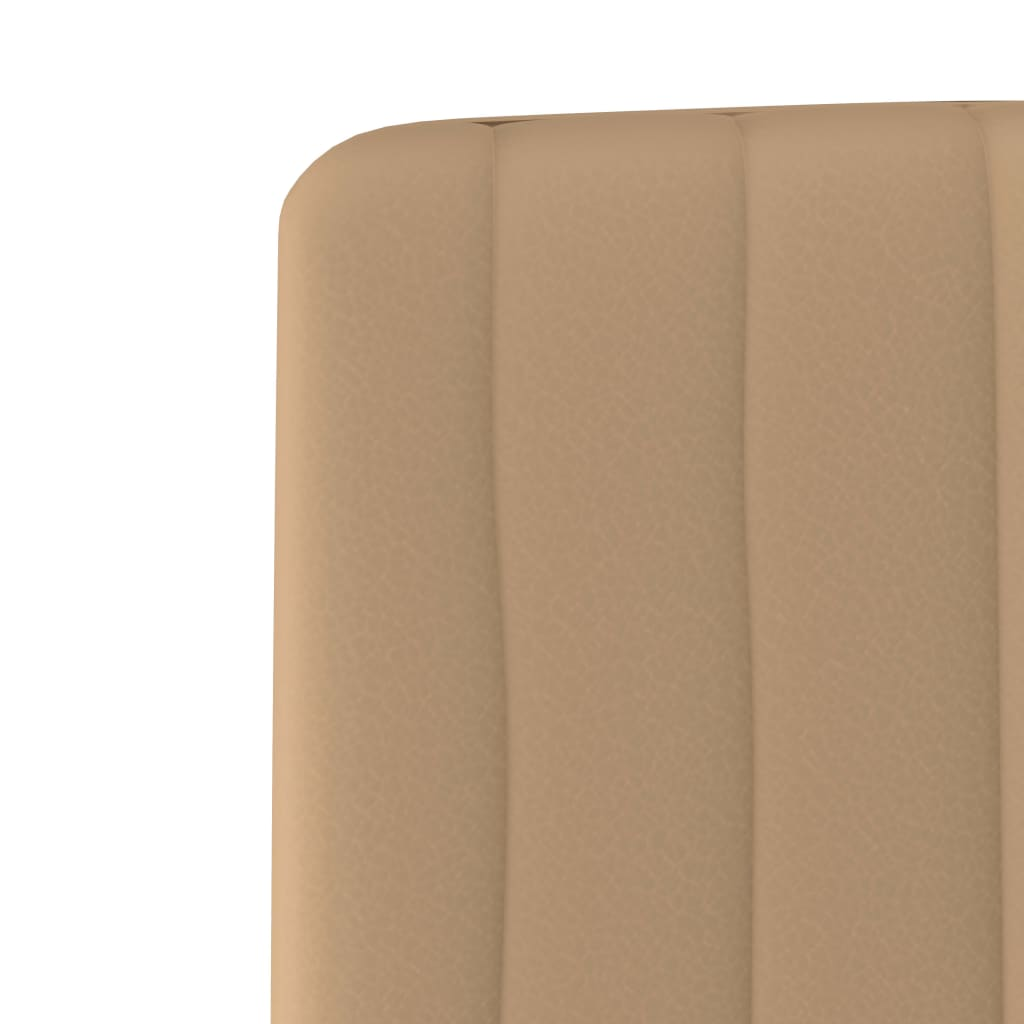 Dining Chairs 4 pcs Cream Faux Leather 6