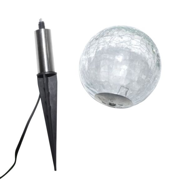 Garden Lights 6 pcs LED with Spike Anchors & Solar Panels 7