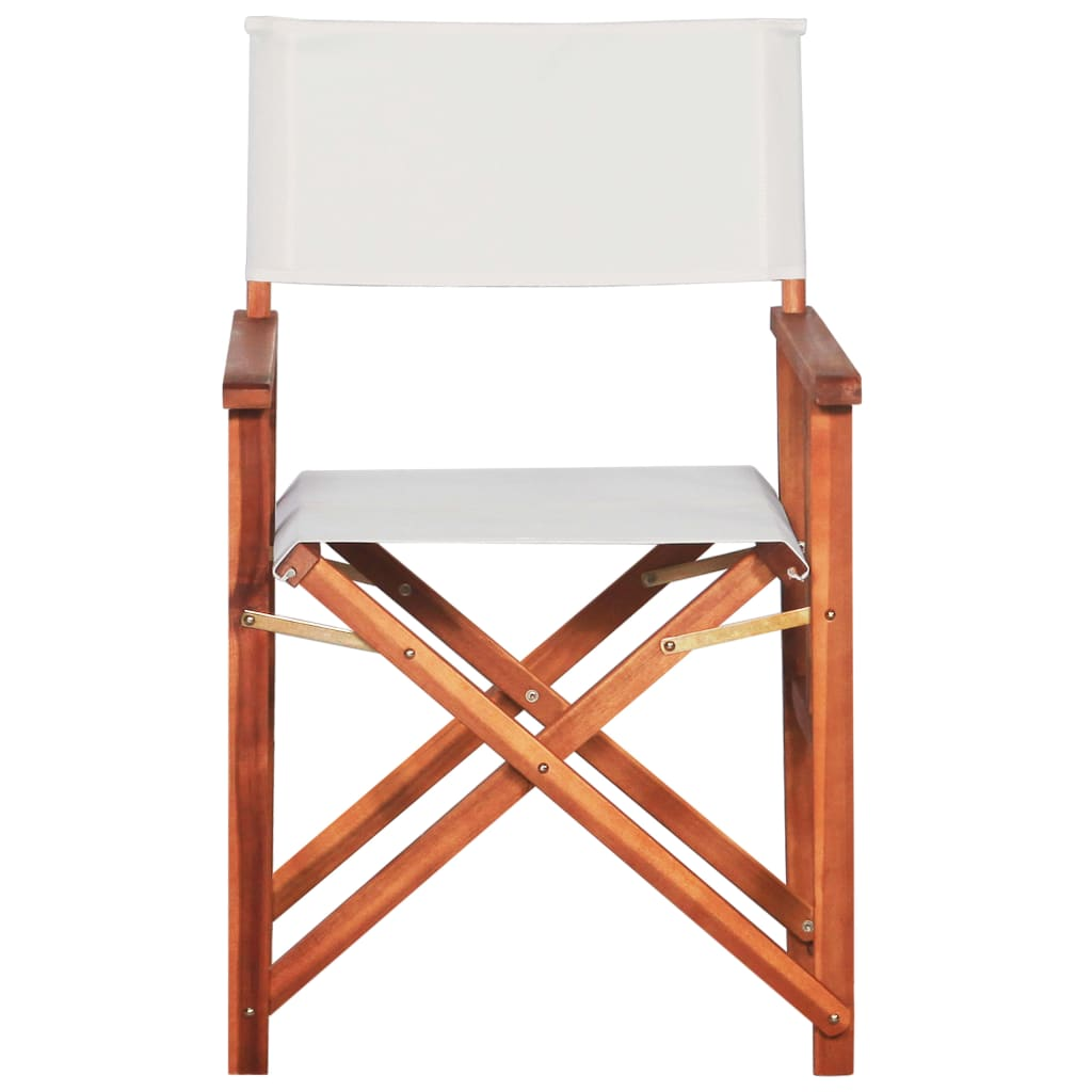 Director's Chairs 2 pcs Solid Acacia Wood 2