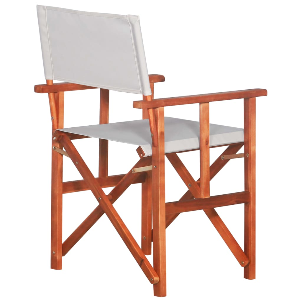 Director's Chairs 2 pcs Solid Acacia Wood 3