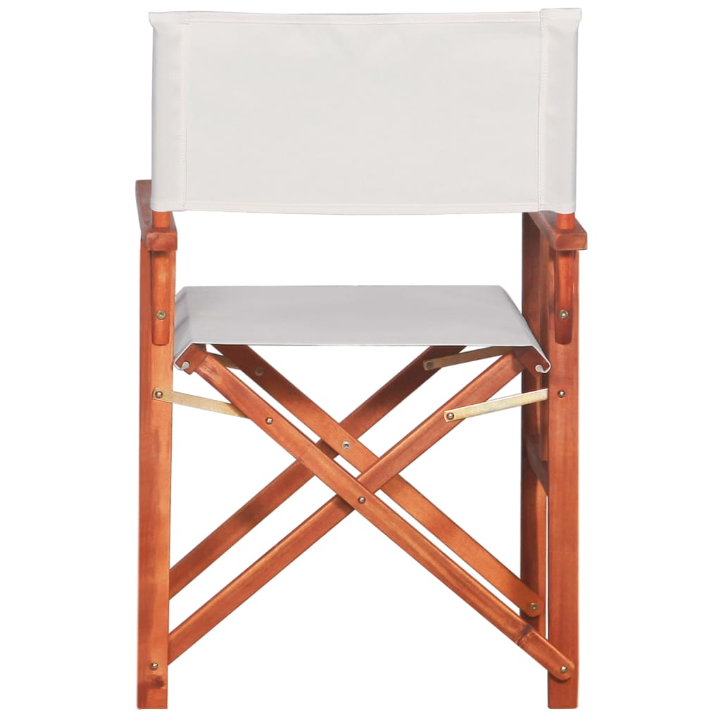 Director's Chairs 2 pcs Solid Acacia Wood 6