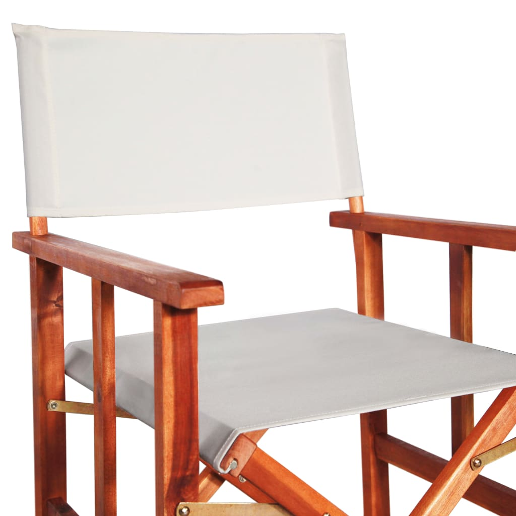 Director's Chairs 2 pcs Solid Acacia Wood 7