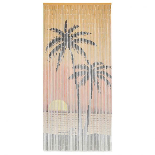 Insect Door Curtain Bamboo 90×200 cm 1
