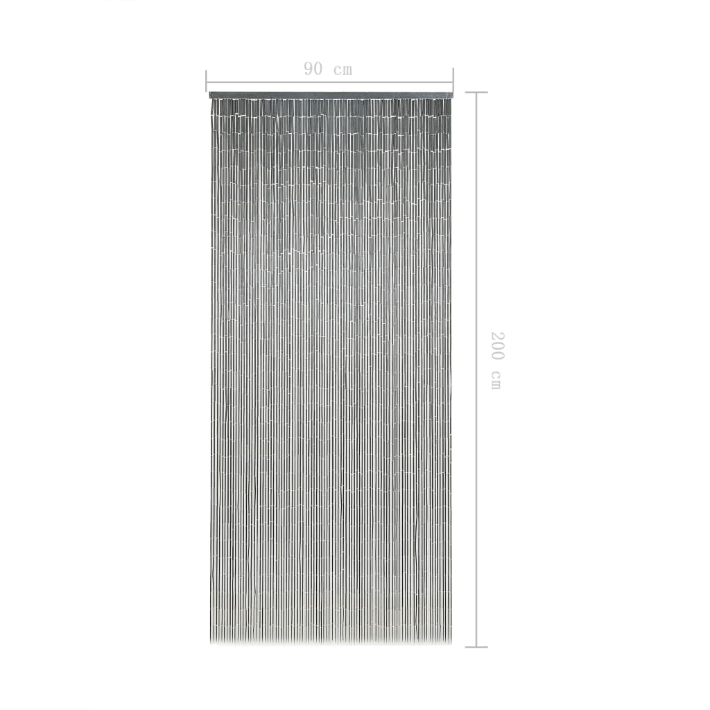 Insect Door Curtain Bamboo 90×200 cm 6