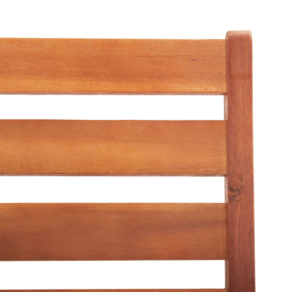 Outdoor Dining Chairs 2 pcs Solid Acacia Wood 6