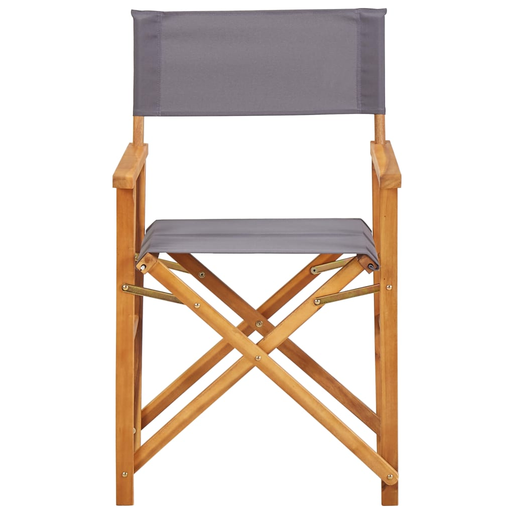 Director's Chairs Solid Acacia Wood 2