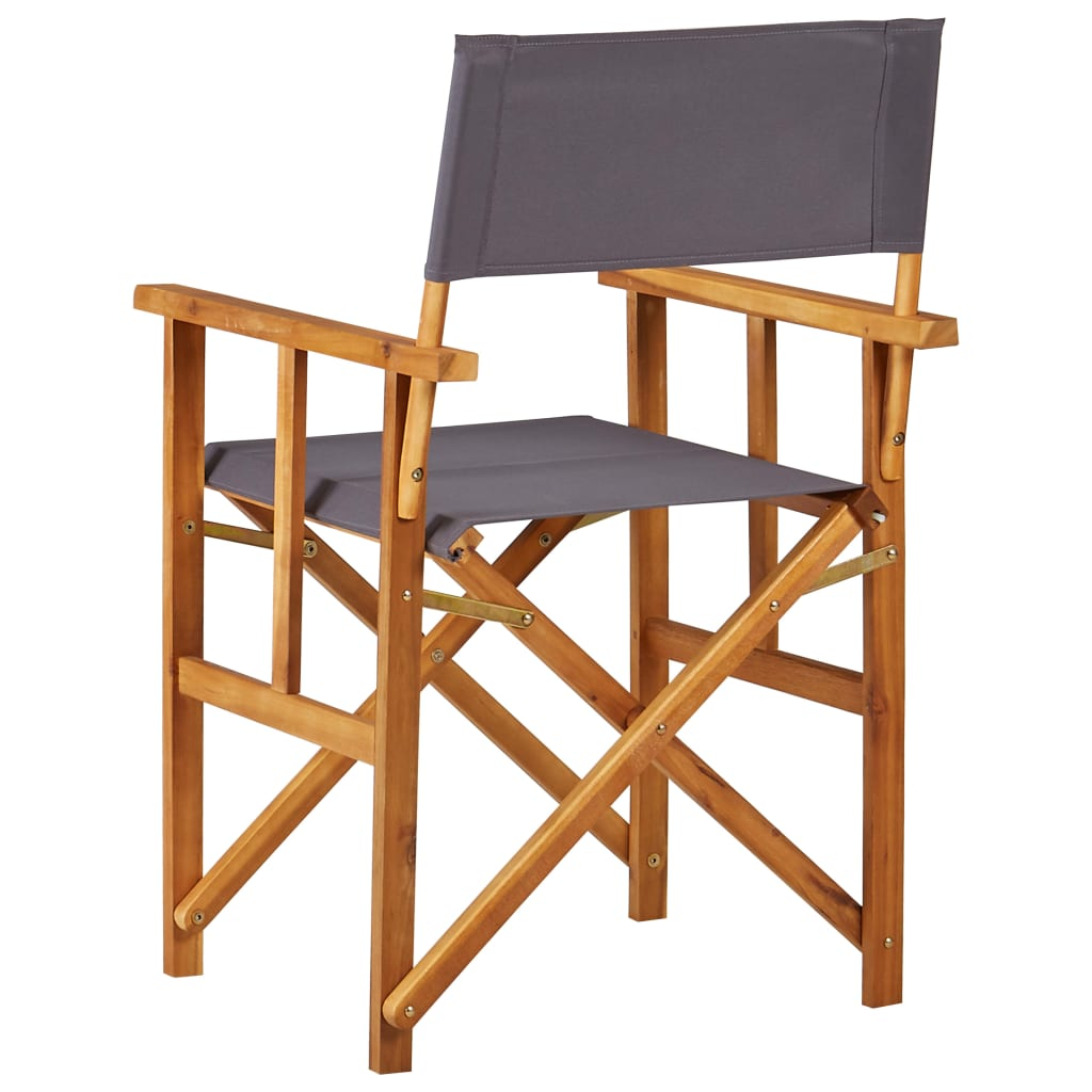 Director's Chairs Solid Acacia Wood 4