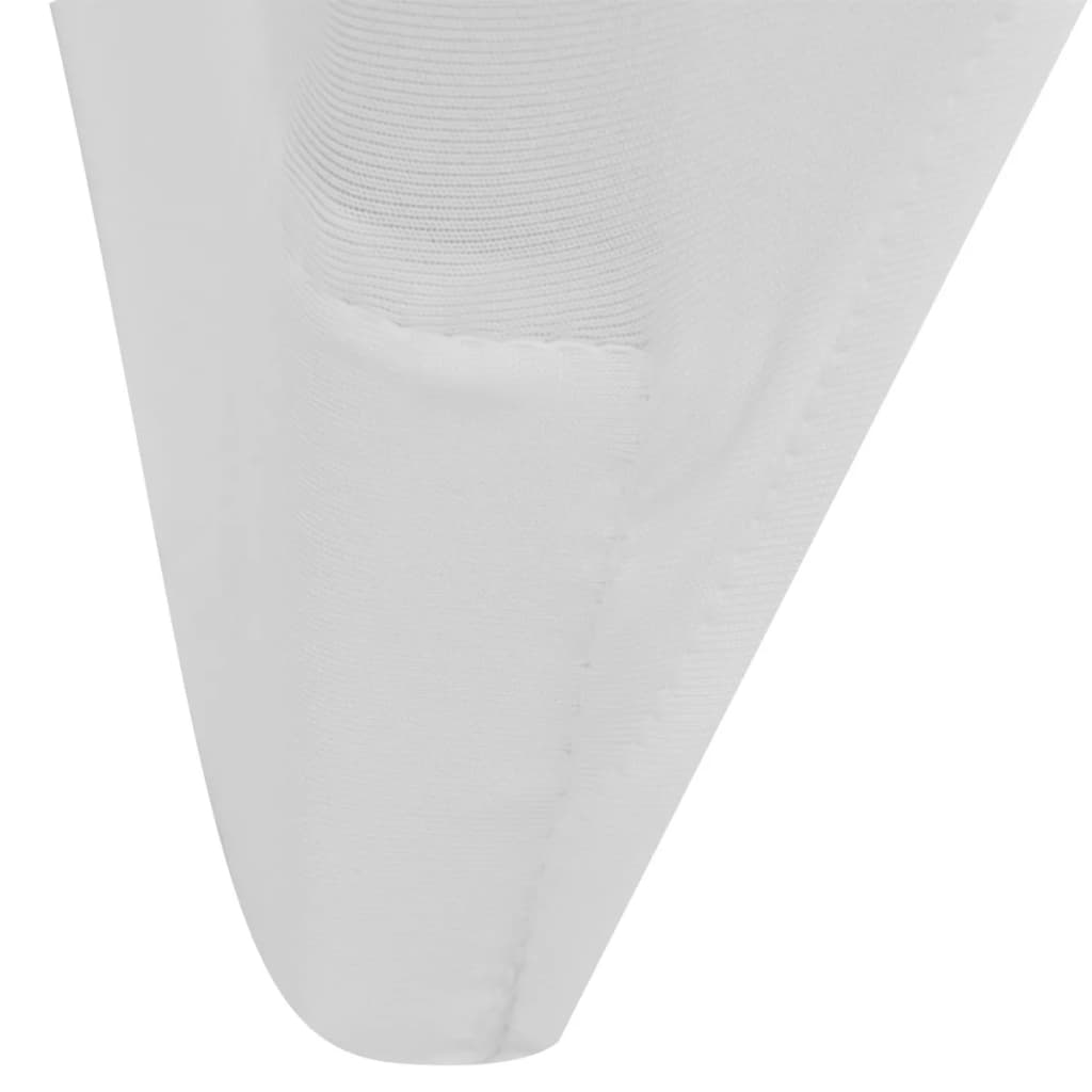 Chair Cover Stretch White 12 pcs 9