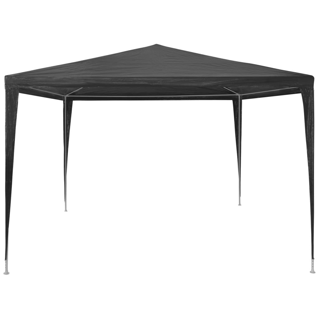 Party Tent 3×3 m PE Anthracite 2