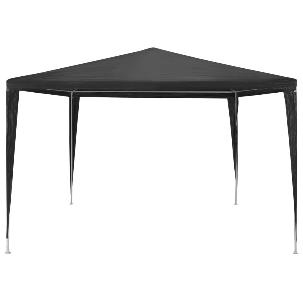 Party Tent 3×3 m PE Anthracite 3