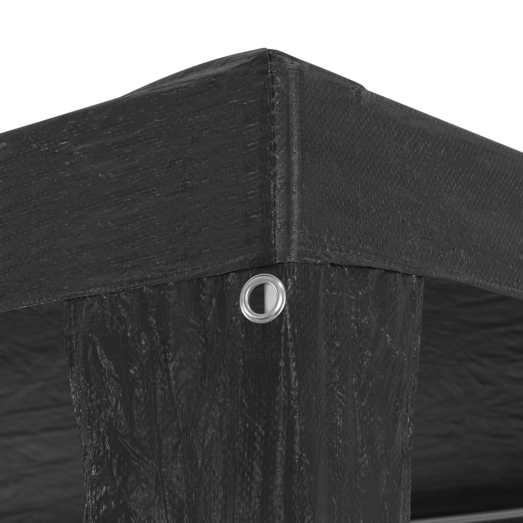 Party Tent 3×3 m PE Anthracite 4