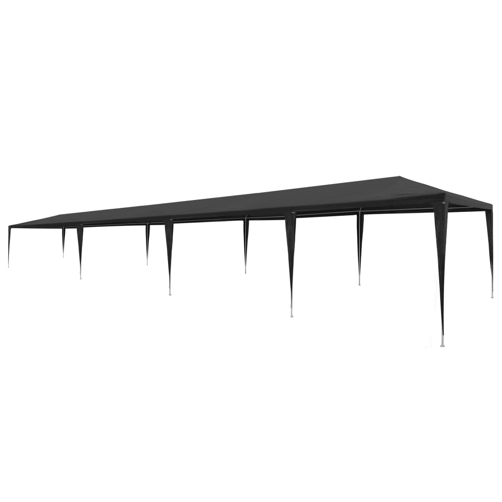 Party Tent 3×12 m PE Anthracite 1