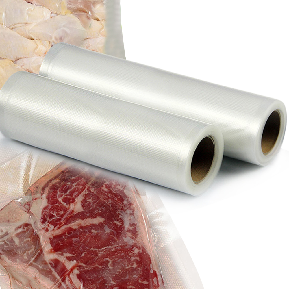 2x Vacuum Food Sealer Storage Rolls 6mx22cm