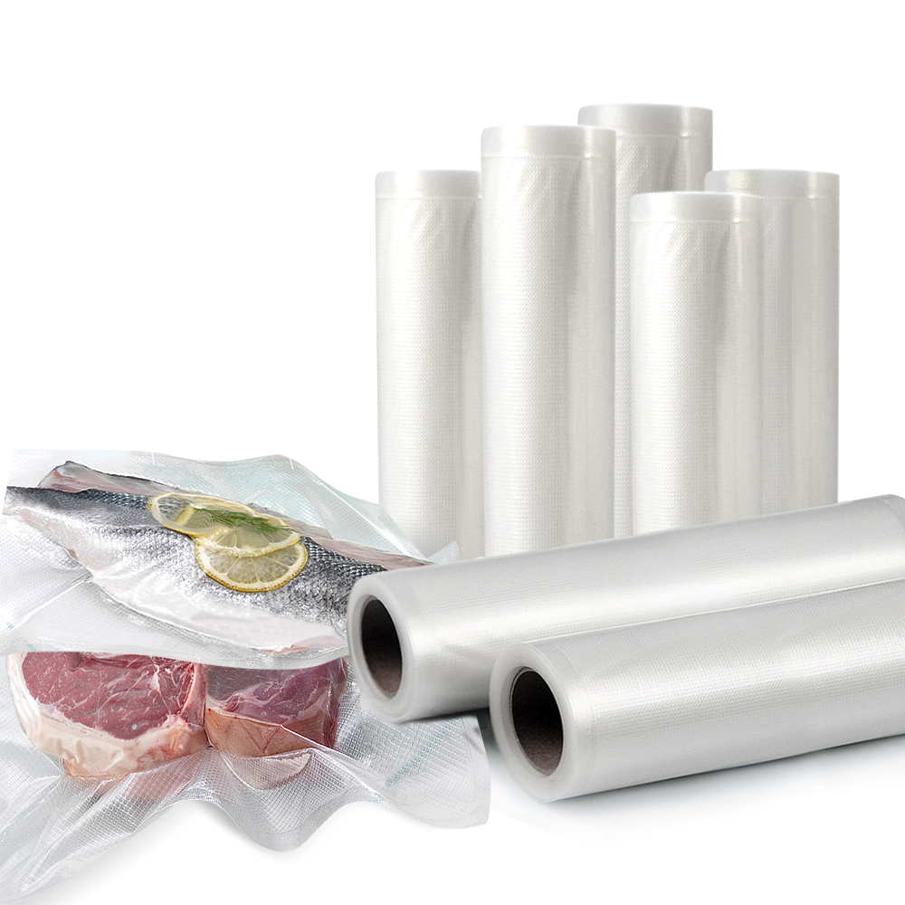 10x Vacuum Food Sealer Storage Rolls 22cm 28cm