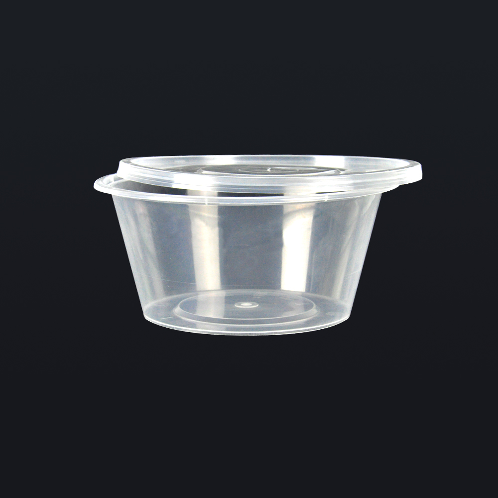 50pcs 300ml Take Away Containers With Lids 2
