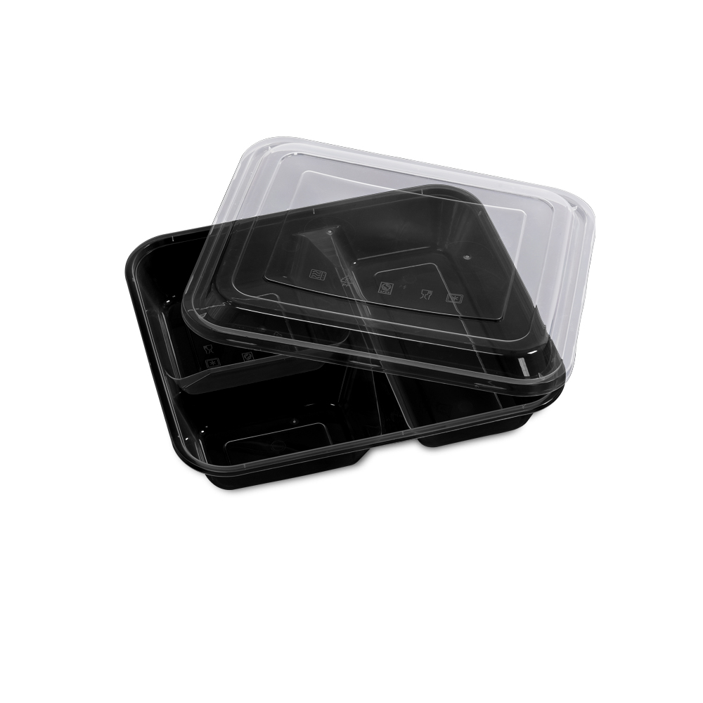 50 Microwave Safe Plastic Container Lunch Box 1000ml 1