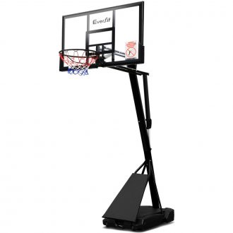 Everfit Pro Portable Basketball Stand System Ring Hoop Net Height Adjustable 3