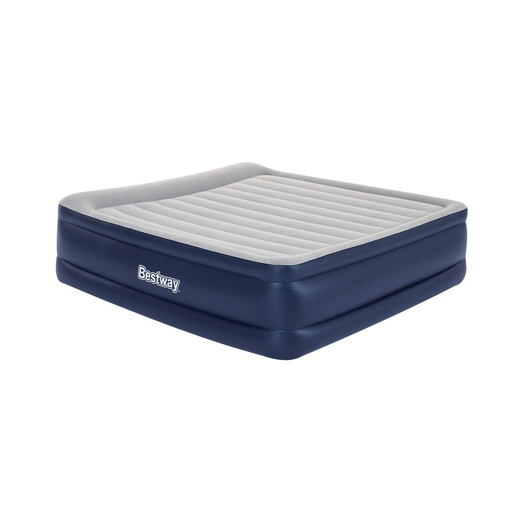 Bestway King Air Bed Inflatable Mattress Sleeping Mat Battery Built-in Pump 1