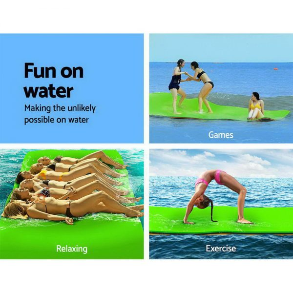 Weisshorn Floating Mat Water Slide Park Stand Up Paddle Pool Sea 270cm 3