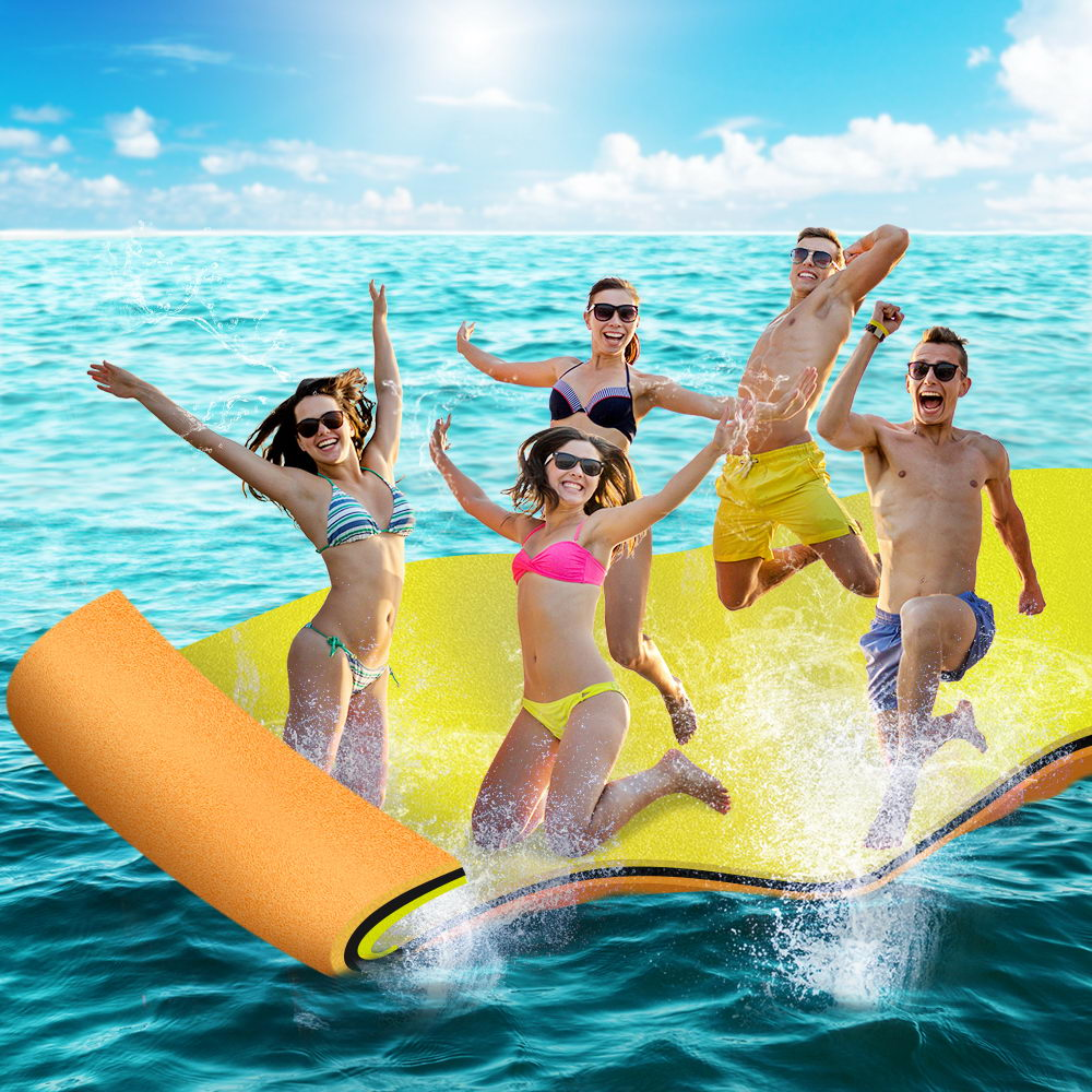 Weisshorn Floating Mat Water Slide Park Stand Up Paddle Pool Sea 550cm 7