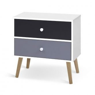 Artiss Bedside Tables Drawers Side Table Nightstand Lamp Side Storage Cabinet 1