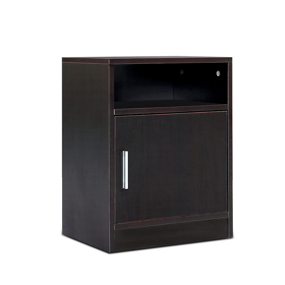 Artiss Bedside Table Cabinet Storage Side Nightstand Lamp Bedroom Chest Unit