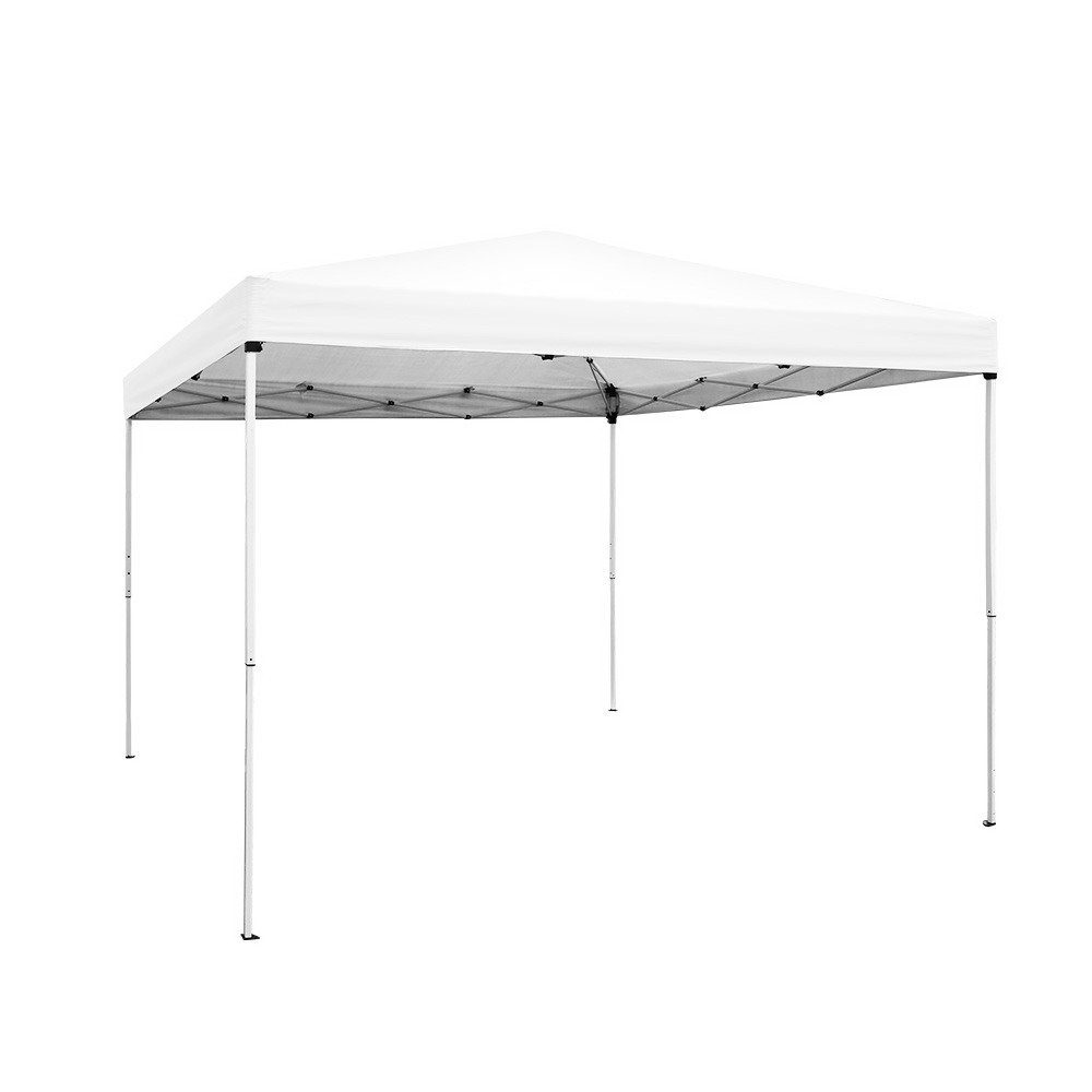 Instahut 3x3m Pop Up Gazebo Outdoor Marquee Tent Wedding Party Canopy White 1