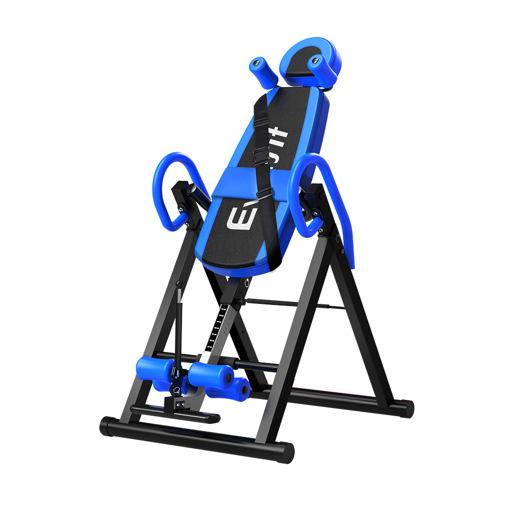 Everfit Gravity Inversion Table Foldable Stretcher Inverter Home Gym Fitness 1