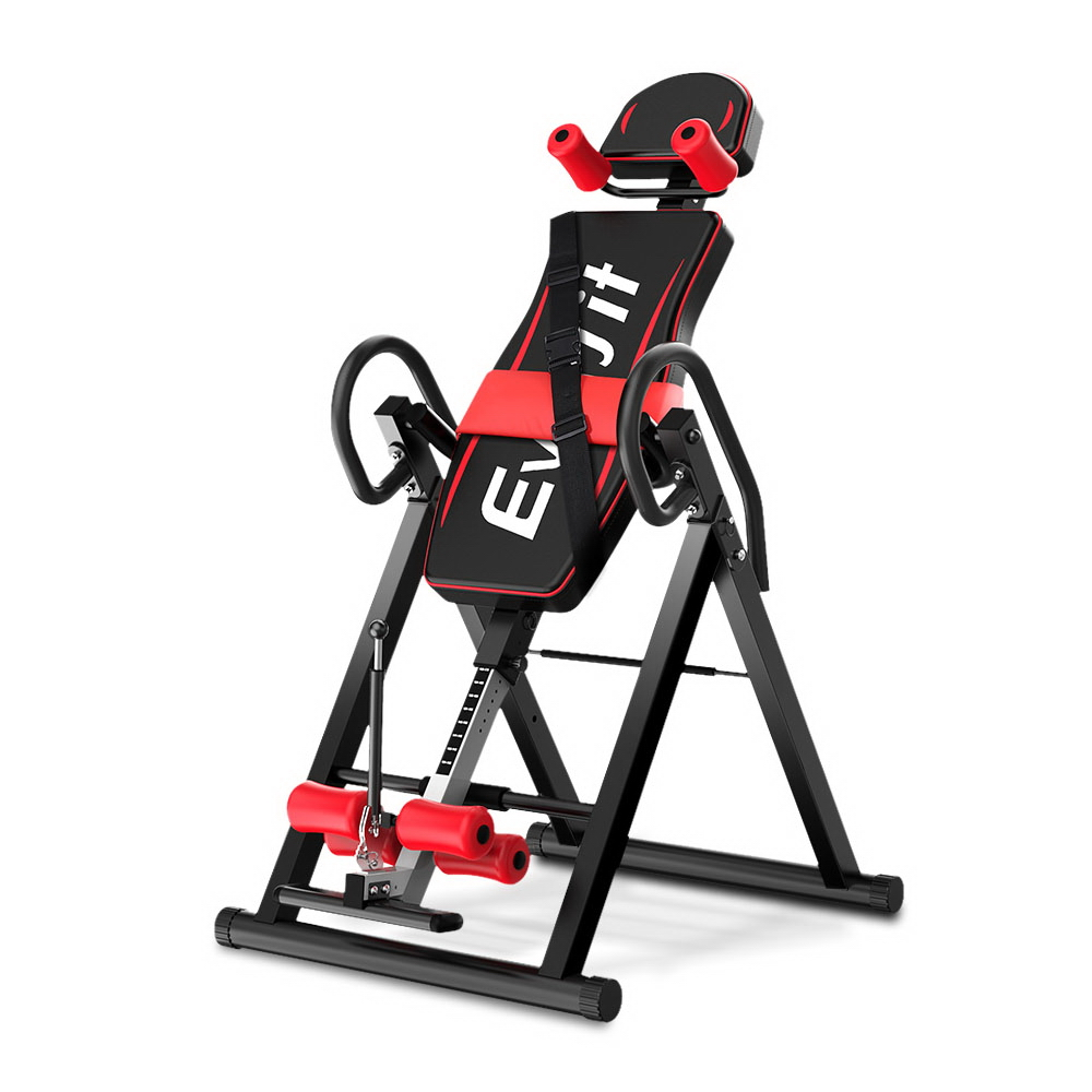 Everfit Inversion Table Gravity Stretcher Inverter Foldable Home Fitness Gym 1