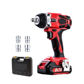 GIANTZ Cordless Impact Wrench 20V Lithium-Ion Battery Rattle Gun Sockets 1
