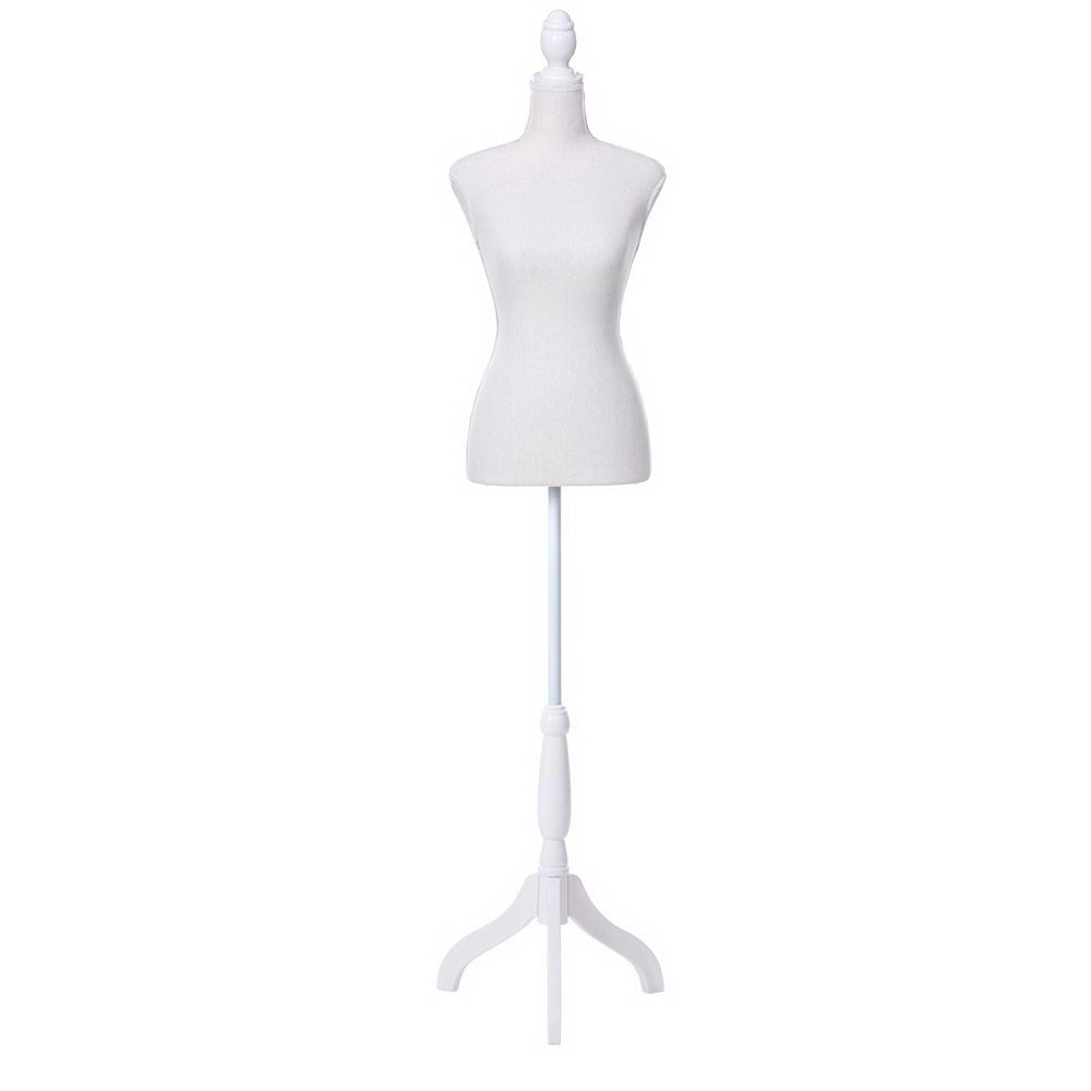 Female Mannequin 170cm Model Dressmaker Clothes Display Torso Tailor Wedding White 1