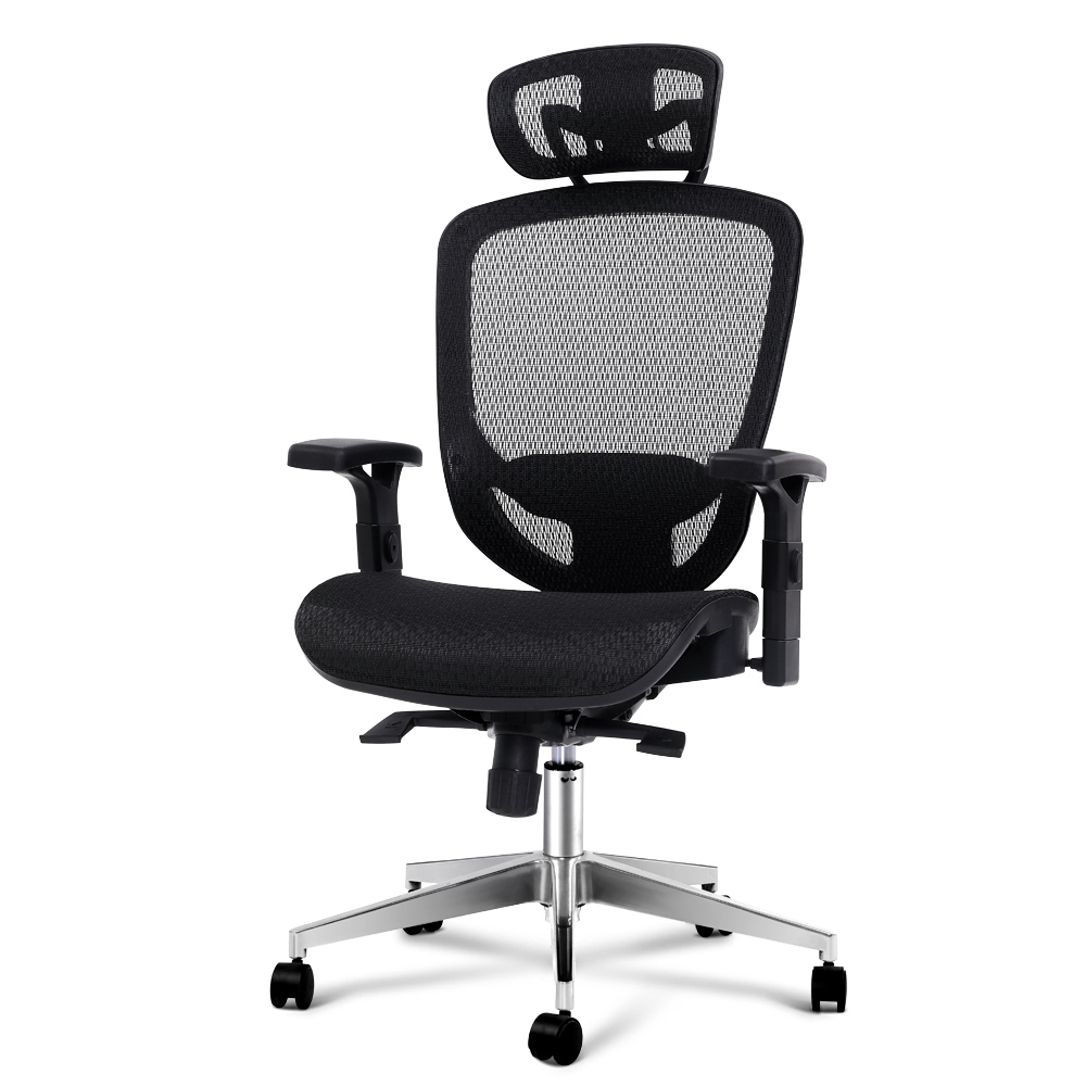 Artiss Office Chair Gaming Chair Computer Chairs Mesh Net Seating Black 1