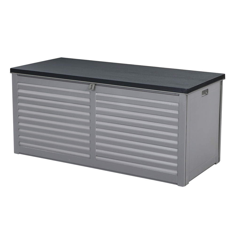 Gardeon Outdoor Storage Box Bench Seat Garden Sheds Chest 490L