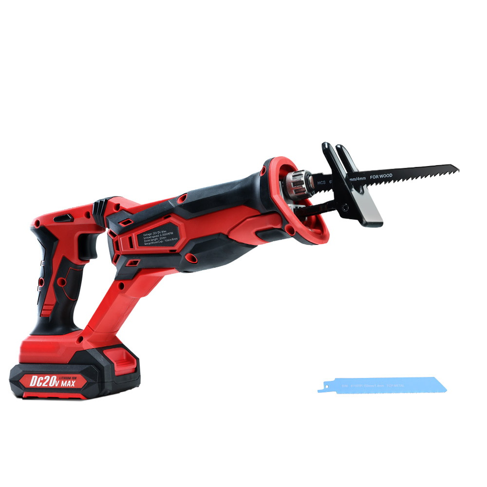 GIANTZ Cordless Reciprocating Saw Electric Corded 20V Lithium Sabre Saw Tool 3