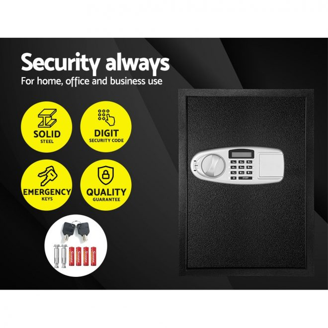 UL-TECH Electronic Safe Digital Security Box LCD Display 50cm 3