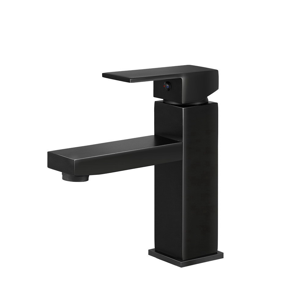 Cefito Basin Mixer Tap Faucet Bathroom Vanity Counter Top WELS Standard Brass Black 1
