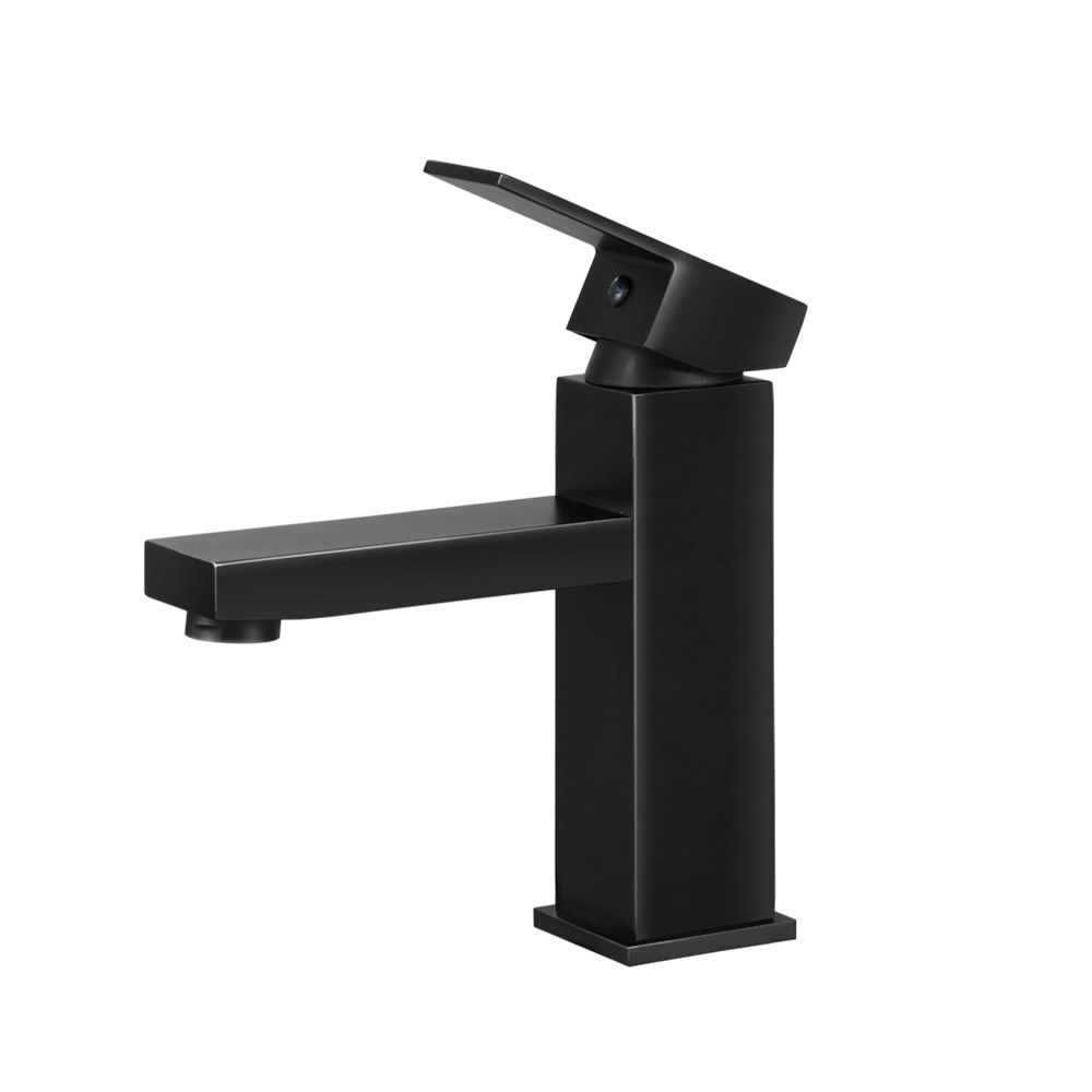 Cefito Basin Mixer Tap Faucet Bathroom Vanity Counter Top WELS Standard Brass Black 3