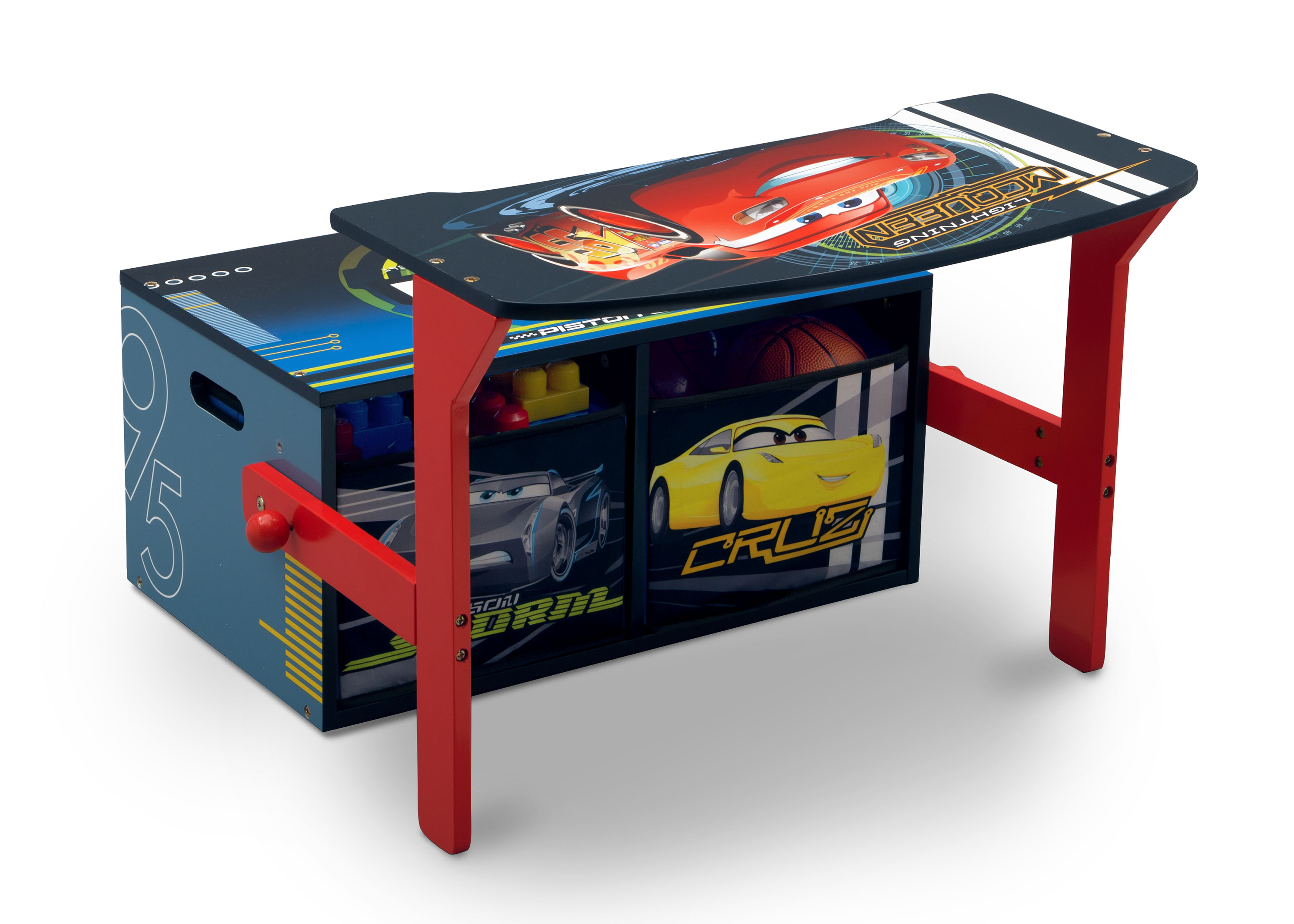 Convertible Bench & Desk – Cars 1