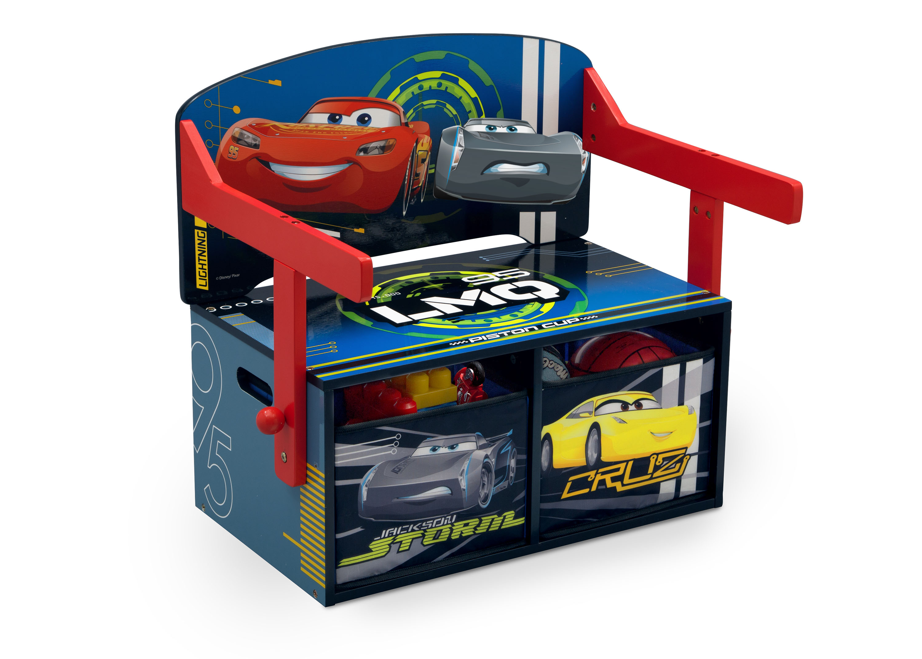 Convertible Bench & Desk – Cars 2