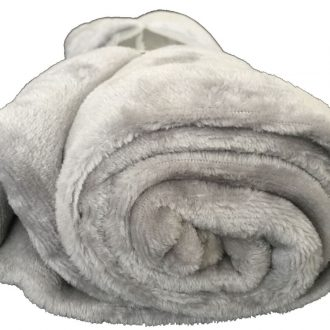 Ultra-Soft Throw Rug (Grey Color) 1